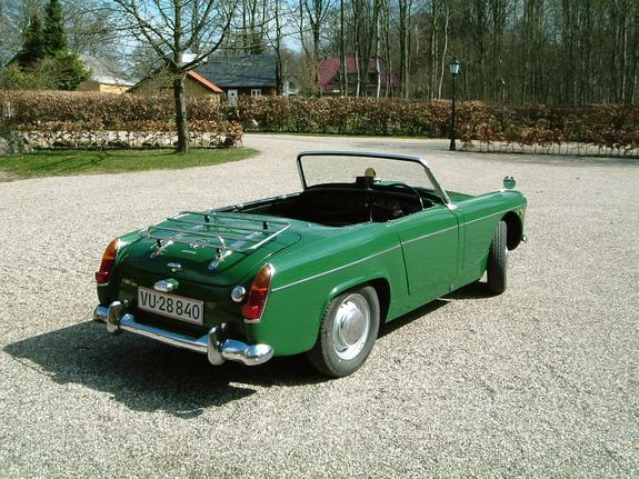 Manage mg midget dimensions something also