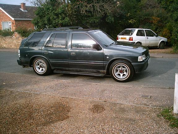 Stevieds 1994 Vauxhall Frontera Specs Photos