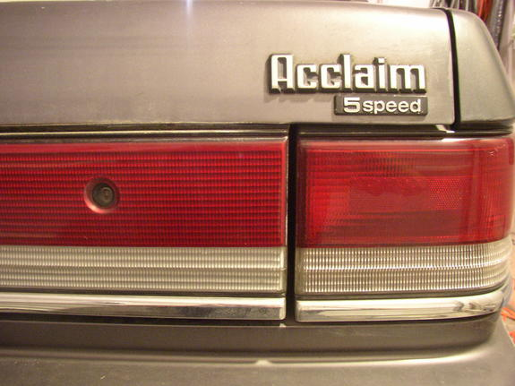 LoneEagle 1989 Plymouth Acclaim Specs, Photos, Modification