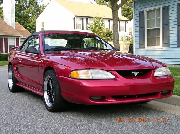HISSN 1997 Ford Mustang 5349161