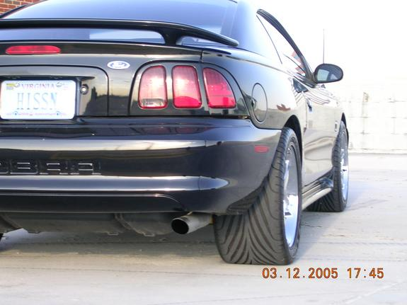HISSN 1997 Ford Mustang 5349166