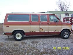 Da_Van 1984 Ford Club Wagon