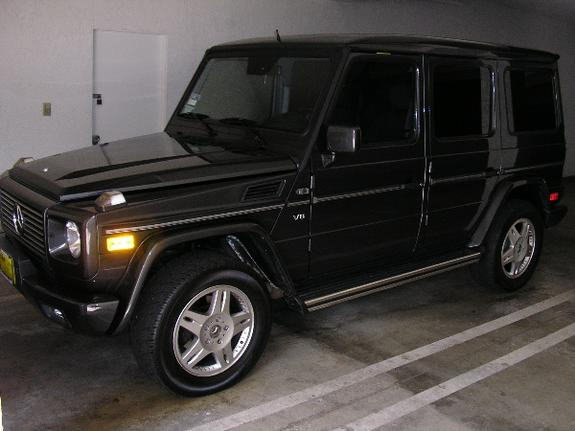ggride 39 s 2002 mercedes benz g class in. Black Bedroom Furniture Sets. Home Design Ideas