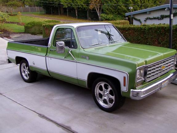 1975 chevy silverado c10  Classic Chevrolet C10 1975 for