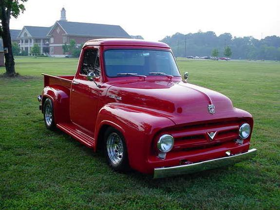 4x4hoss8 1953 ford f150 regular cab specs photos modification info at cardomain. Black Bedroom Furniture Sets. Home Design Ideas