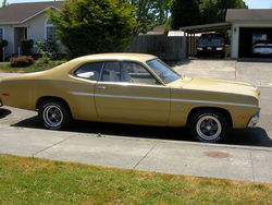 RUSTED 1974 Plymouth Duster