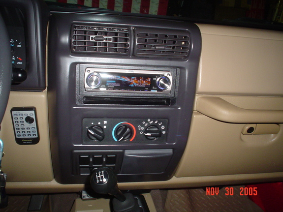Large on Jeep Sound System