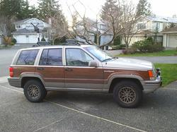 doucheface 1993 Jeep Grand Wagoneer