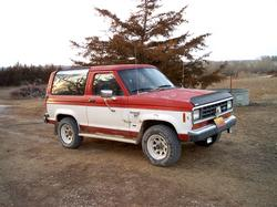 tiger24s 1986 Ford Bronco II