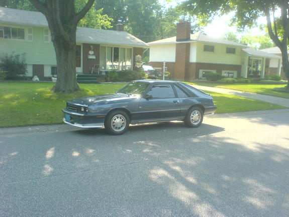 Another chedski 1984 Mercury Capri post... - 5470581