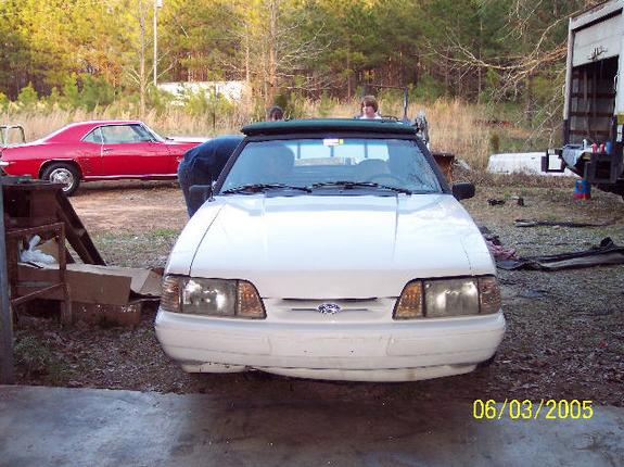 stangchicaash 1993 Ford Mustang