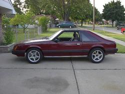 Mike83GLXs 1983 Ford Mustang