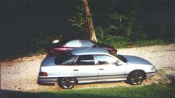 low_merc 1991 Mercury Sable