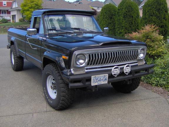jeepj20 1975 Jeep Comanche Regular Cab Specs, Photos