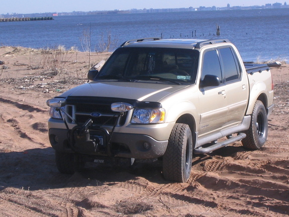 Snow plow for ford explorer sport trac