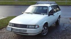 the_wagons 1993 Chevrolet Cavalier