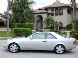 kev600s 1998 Mercedes-Benz CL-Class