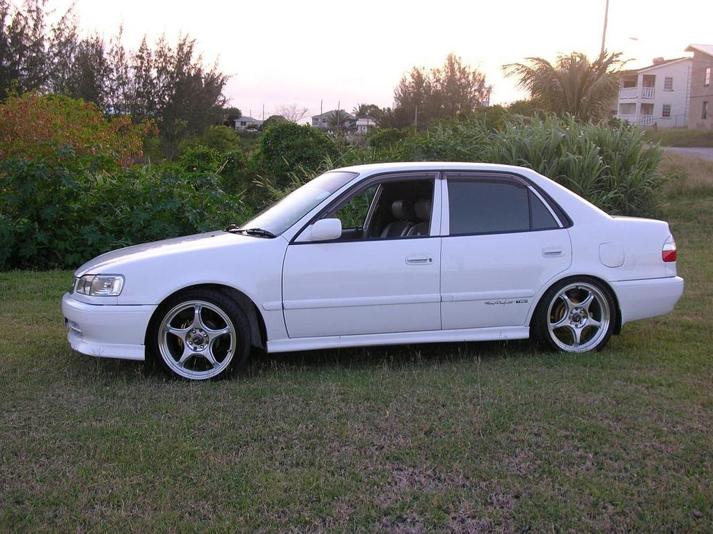 jdm rolla 1999 toyota corolla specs photos modification info at cardomain. Black Bedroom Furniture Sets. Home Design Ideas