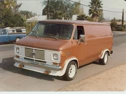 Goliath73 1972 Chevrolet Van 5553763