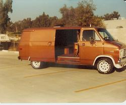 Goliath73 1972 Chevrolet Van 5553764