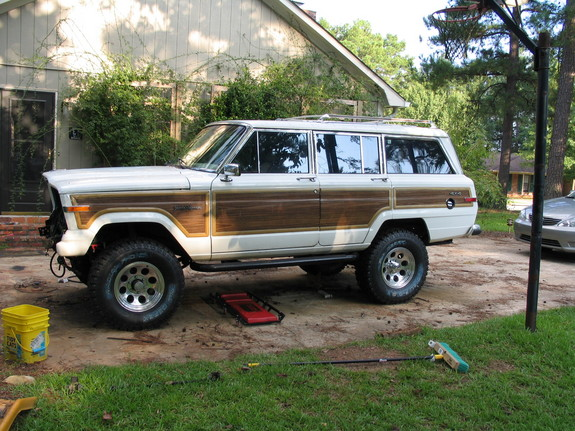 funwheeling 1991 jeep grand wagoneer specs photos. Black Bedroom Furniture Sets. Home Design Ideas