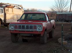 cloudconnecteds 1976 Dodge W-Series Pickup