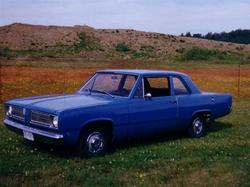 Slanted 1968 Plymouth Valiant