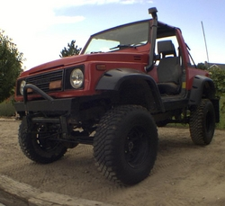 col10sees 1987 Suzuki Samurai