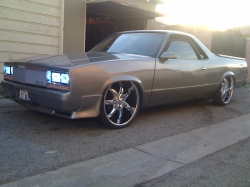 downativetribe 1984 Chevrolet El Camino
