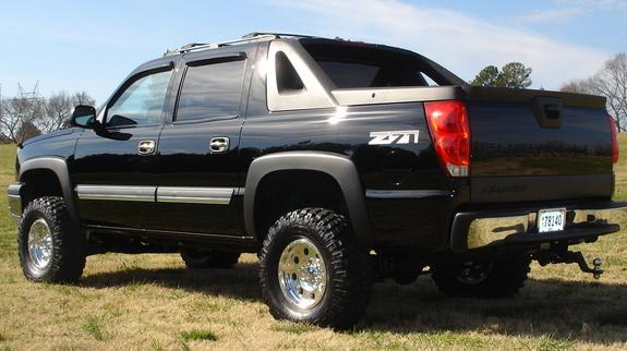 liftedavy 2004 chevrolet avalanche specs photos modification info at cardomain. Black Bedroom Furniture Sets. Home Design Ideas
