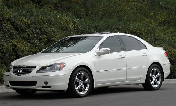 2005 acura rl white 200 interior and exterior images. Black Bedroom Furniture Sets. Home Design Ideas
