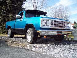 78225 1978 Dodge D150 Club Cab