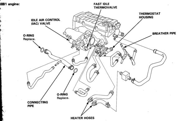 94 acura integra engine diagram
