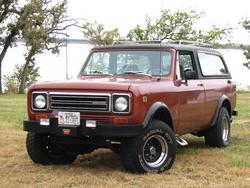 Cheyene1979IHs 1979 International Scout II