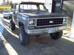 KDY1982 1974 Chevrolet C/K Pick-Up