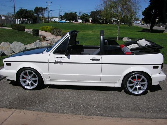 dubup89 1989 Volkswagen Cabriolet Specs, Photos, Modification Info