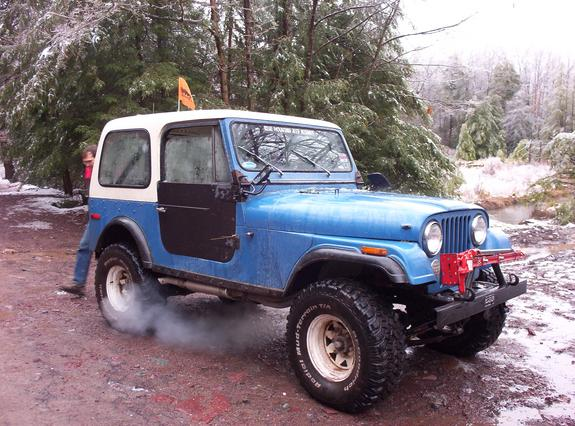 Bkcampbe 1977 Jeep Cj7 Specs Photos Modification Info At