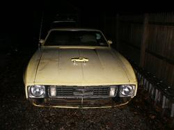 03yellowblaze 1973 Ford Mustang
