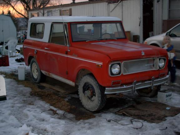 RedSR2Scout 1970 International Scout II 5770361