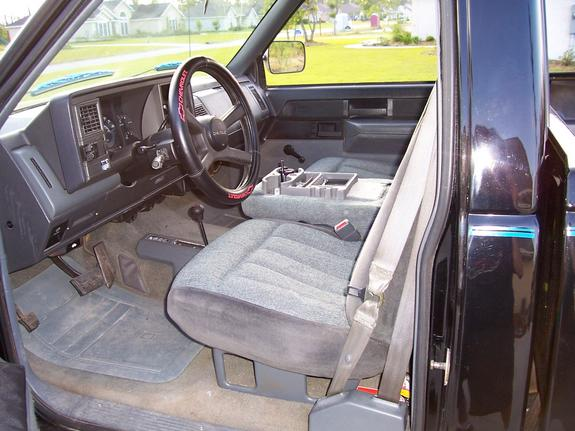 Backinblackchevy 1989 Chevrolet Silverado 1500 Regular Cab