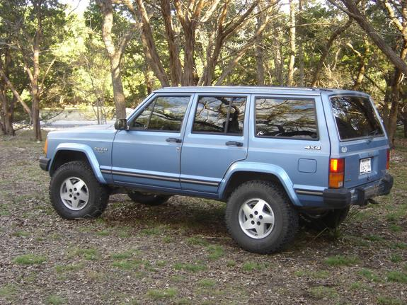 dablue 1990 jeep cherokee specs photos modification info at cardomain. Black Bedroom Furniture Sets. Home Design Ideas