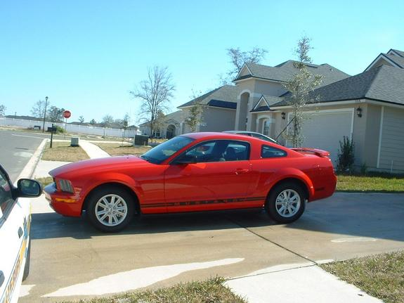 Another rednblackdawg 2005 Ford Mustang post... - 5820308