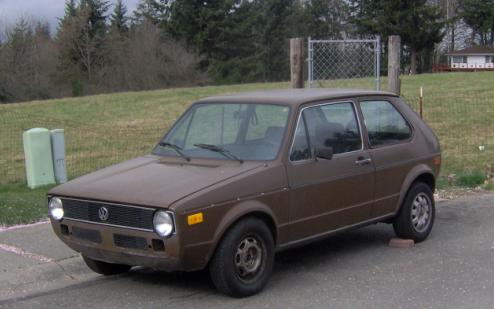 Another Brienrabbit 1977 Volkswagen Rabbit Post Photo 5887498