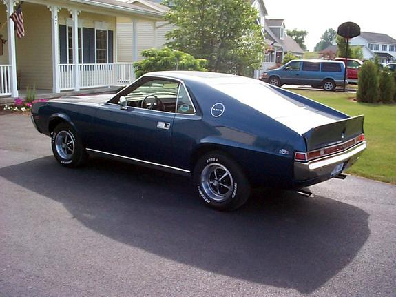 MR390AMX's 1969 AMC AMX