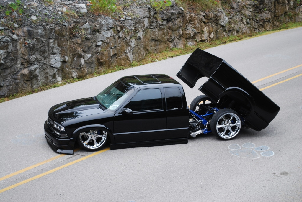 xtucking22s 2001 Chevrolet S10 Extended Cab