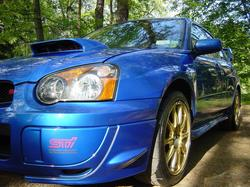 2005 WRX STi with GT35R Turbo