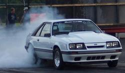 7point5inafoxs 1985 Ford Mustang