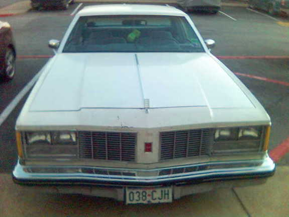 occupant's 1979 Oldsmobile Delta 88