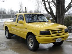 tracetraces 1995 Ford Ranger Super Cab