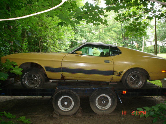 mach11973's 1973 Ford Mustang
